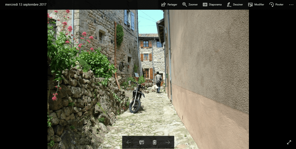Photos : une barre d'outil pour tout gérer
