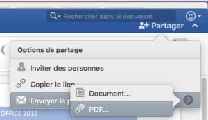 Partager en format PDF