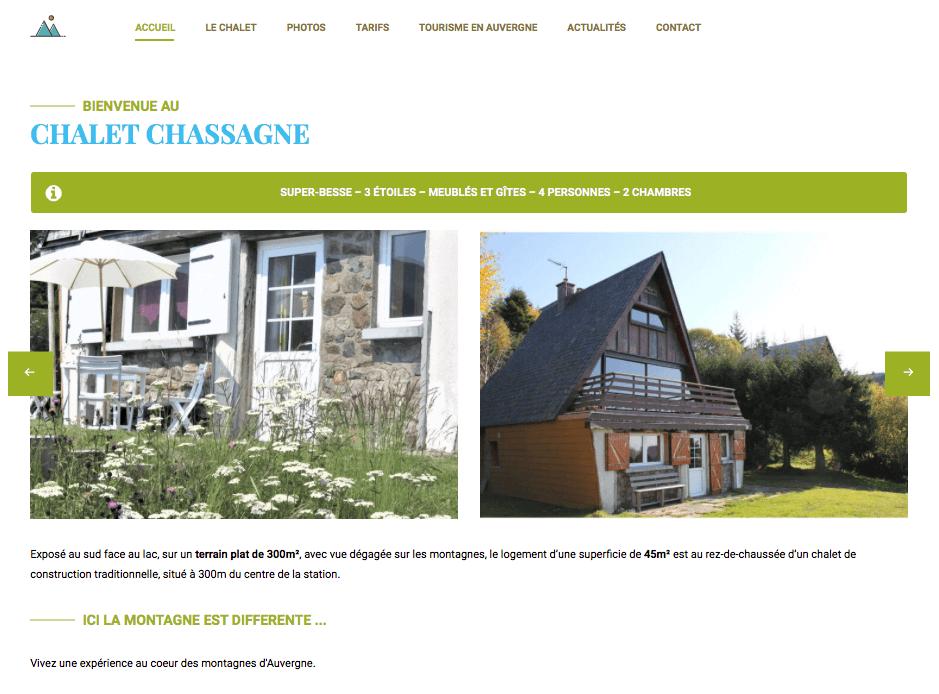 Chalet Chassagne - accueil