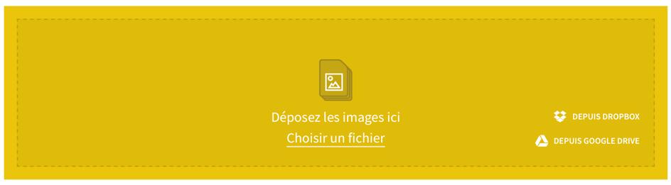 Smallpdf : envoyer fichiers