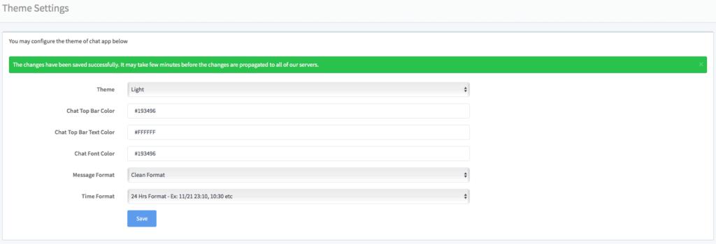 iFlyChat - gestion du thème