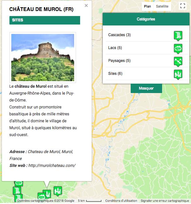 Advances Google Maps Plugin For WordPress - infowindow