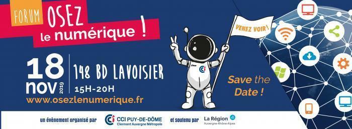 Forum 'Osez le numérique' 2nde édition – Save the date !