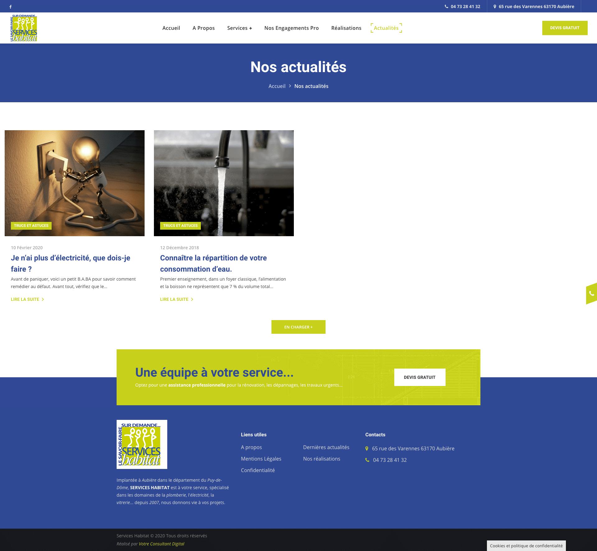 Archives blog - Services Habitat 63