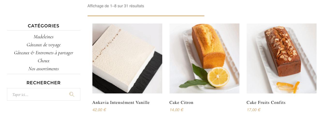 MAGDALA La Pâtisserie - TOULOUSE - boutique