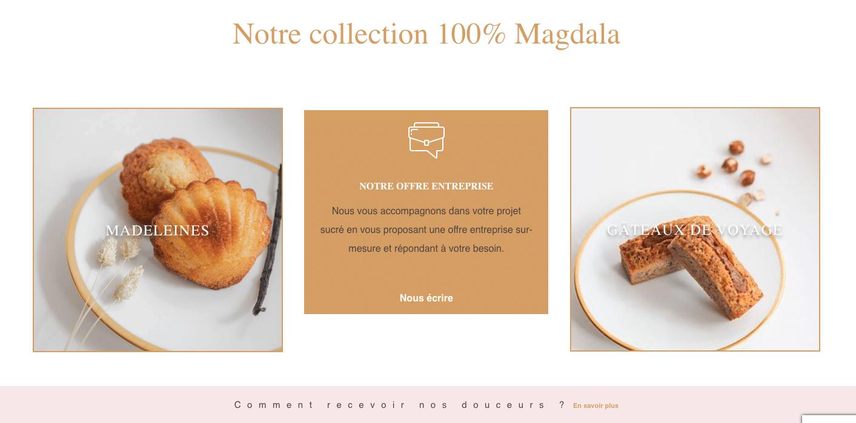 MAGDALA La Pâtisserie - TOULOUSE - douceurs