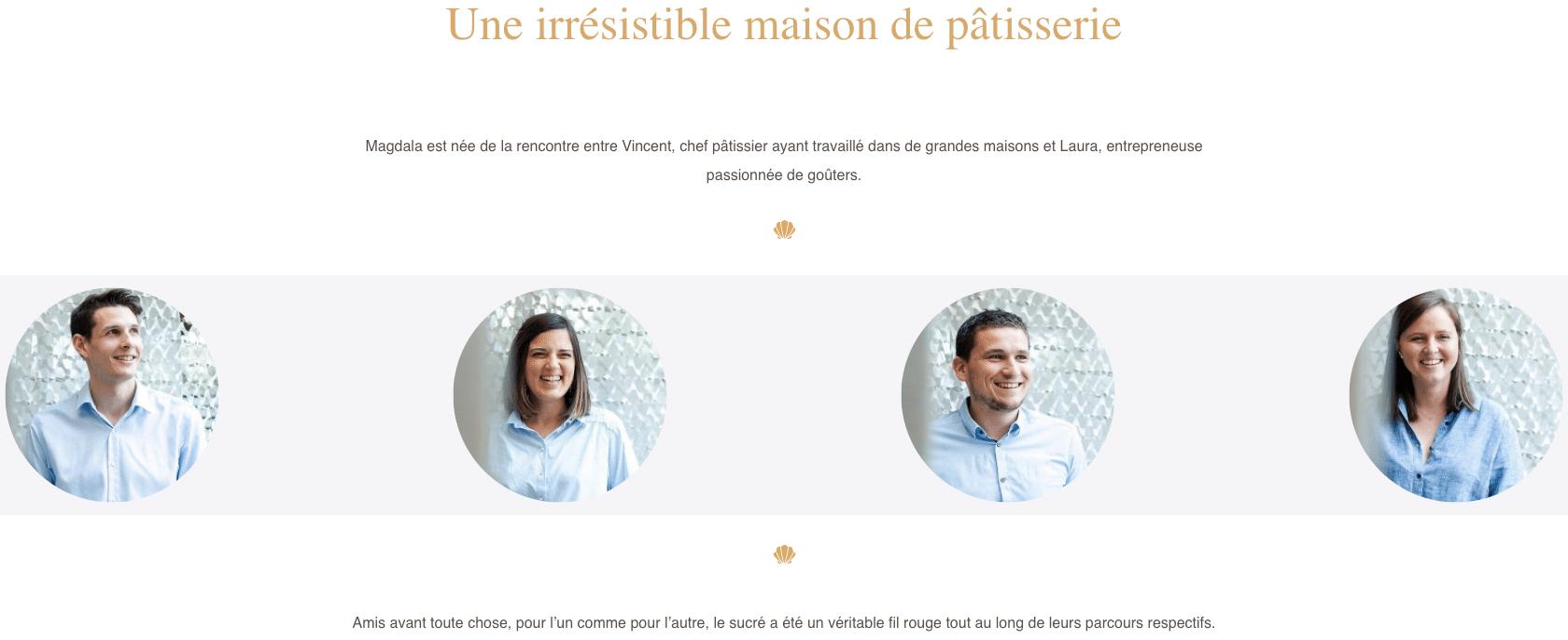 MAGDALA La Pâtisserie - TOULOUSE - équipe