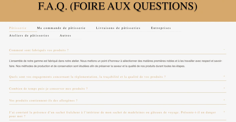 MAGDALA La Pâtisserie - TOULOUSE - FAQ