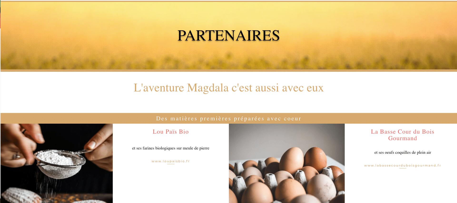 MAGDALA La Pâtisserie - TOULOUSE - Partenaires