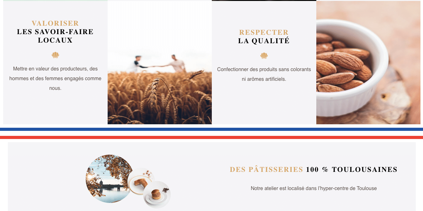 MAGDALA La Pâtisserie - TOULOUSE - valeurs