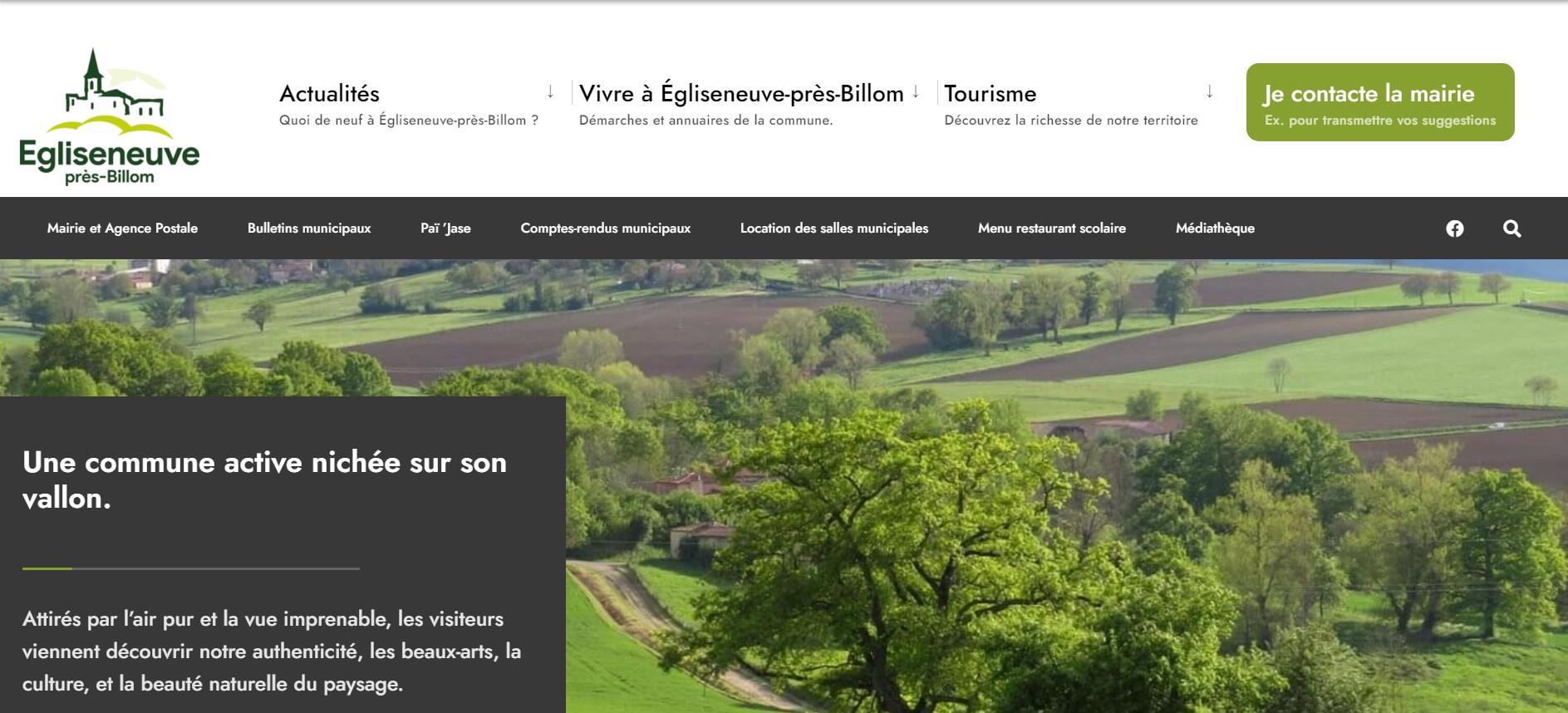 Mairie d'Egliseneuve-près-Billom : accueil